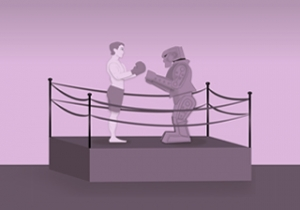 humans vs machines blog illustration