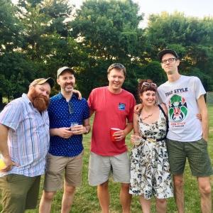 Group photo of HC employees