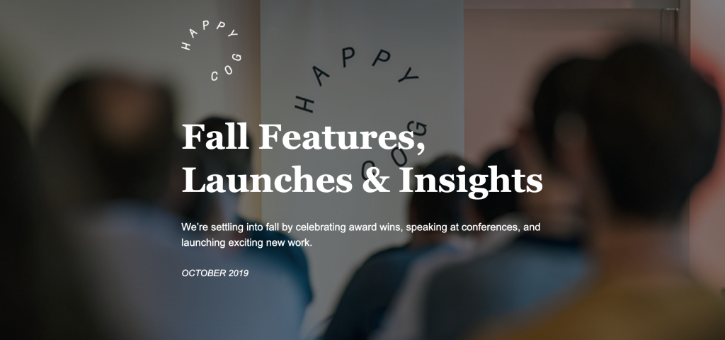 Fall Features, Launches, and Insights