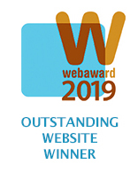 WEBAWARD19 Outstanding Website Winner